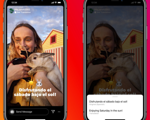 Instagram can now automatically translate text in stories