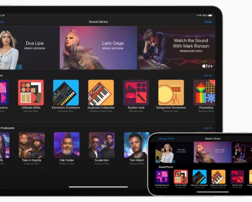 Apple updates GarageBand for iPhone and iPad with new 'Sound Packs'