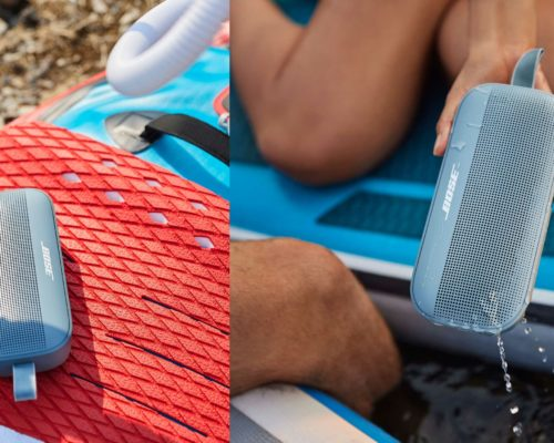 Bose's new portable speaker will float if you drop it in the pool